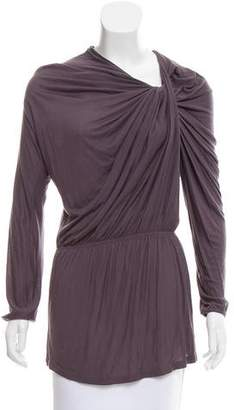 Lanvin Knit Asymmetrical Top