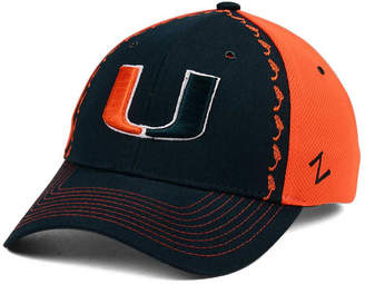 Zephyr Miami Hurricanes Pattern Pipe Stretch Cap