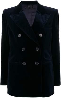 Aspesi velvet double breasted blazer