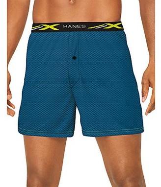 Hanes Men's X-Temp Stretch Mesh Boxer, 4 Pack