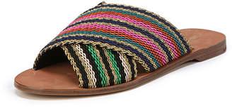 Diane von Furstenberg Cindi Crisscross Flat Sandal