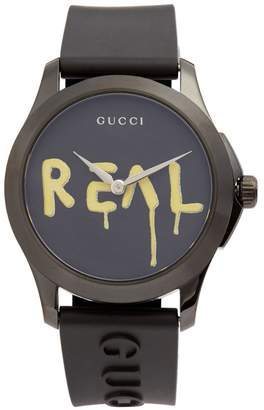 Gucci G-Timeless rubber watch