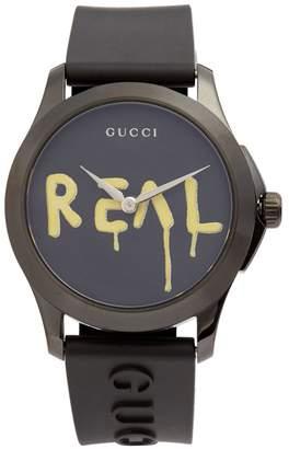 Gucci G-Timeless rubber watch