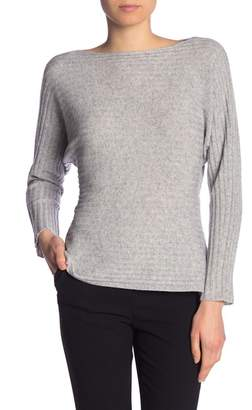 Vince Tie Back Dolman Sleeve Wool & Cashmere Blend Sweater
