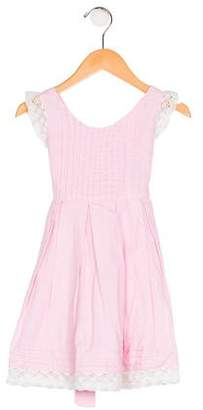 Isabel Garreton Girls' A-Line Pleated Dress