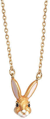 Kate Spade Desert Muse Bunny Necklace
