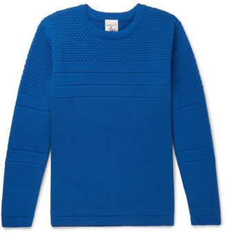 S.N.S. Herning Mentor Panelled Merino Wool Sweater