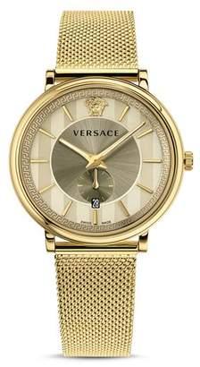 Versace Ivory Manifesto Edition Watch, 42mm