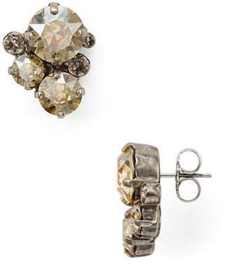 Sorrelli Crystal Assorted Rounds Post Earring - 100% Exclusive