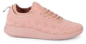 Textured Low-Top Sneakers
