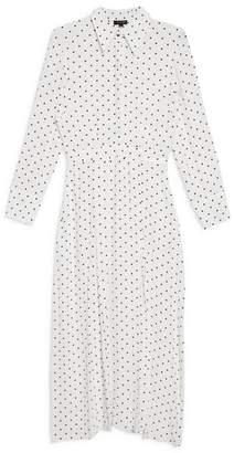 Topshop Dot Print Dress