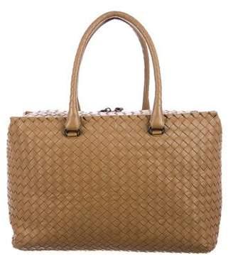 Bottega Veneta Intrecciato Brick Bag