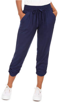 Sound/Style Ruched Cropped Pants