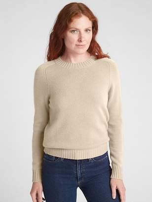 Gap Crewneck Pullover Sweater in Cashmere