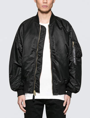 Marcelo Burlon County of Milan Tiger Alpha MA-1 Jacket