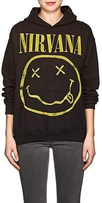 "Madeworn Women's ""Nirvana"" Cotton-Blend Fleece Hoodie"