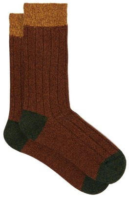 Pantherella Scott Nichol Burghley Socks - Mens - Brown