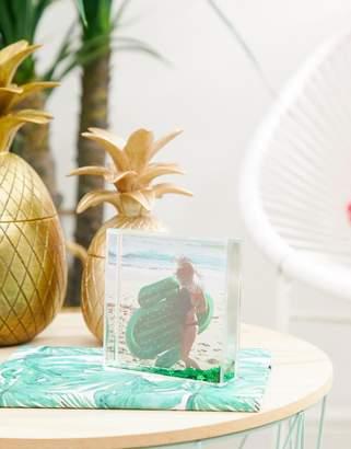 Sunnylife cactus glitter photo frame