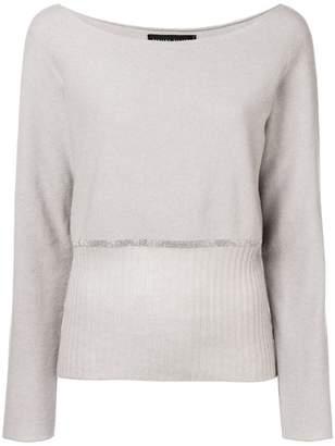 Fabiana Filippi cashmere embellished sweater