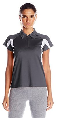Champion Women's Double Dry Performance Polo $36 thestylecure.com