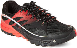 Merrell Black & Molten Lava All Out Charge Running Sneakers