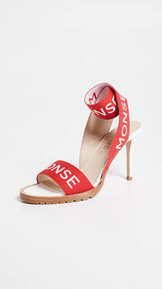 Monse Stretch Strap Heel Sandals