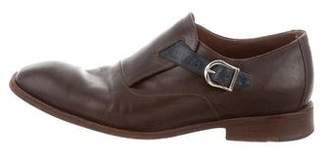 Esquivel Leather Monk Strap Shoes