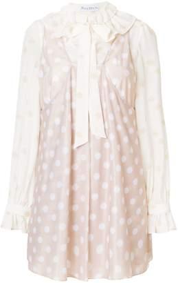 J.W.Anderson polka-dot dress