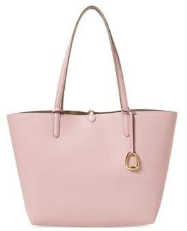 Lauren Ralph Lauren Reversible Faux-Leather Tote