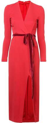 ADAM by Adam Lippes belted fitted midi dress