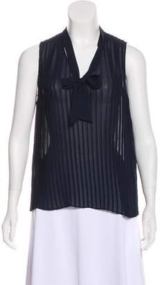 Frame Pleated Sleeveless Top w/ Tags