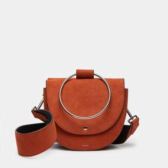 Theory Whitney Bag With Guitar Strap In Suede