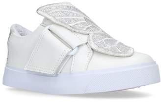 Sophia Webster Leather Butterfly Bibi Sneakers