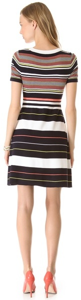 Shoshanna Striped Ilana Dress