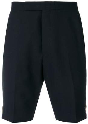 Thom Browne side stripe tailored shorts