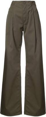Maison Margiela oversized wide leg trousers