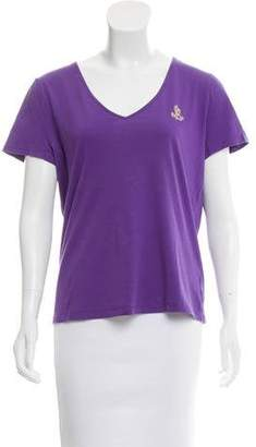 Lauren Ralph Lauren Short Sleeve V-Neck T-Shirt