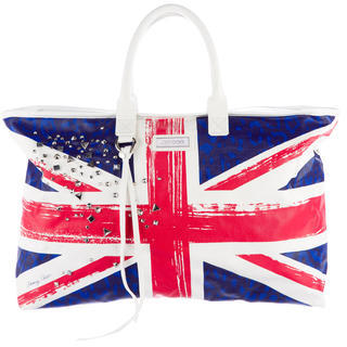 Jimmy Choo Jimmy Choo Union Jack Tote