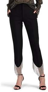 Women's Frieda Crystal-Embellished Pants - Black