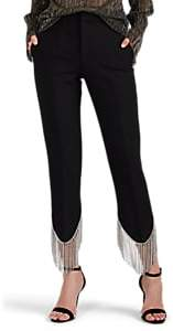 Area Women's Frieda Crystal-Embellished Pants - Black