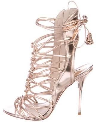 Sophia Webster Lacey Cage Sandals