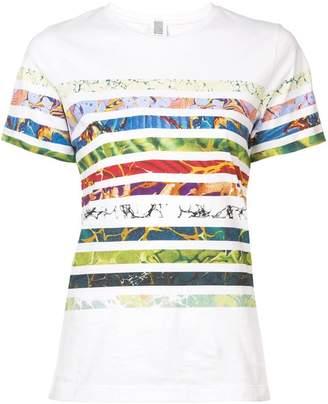 Rosie Assoulin multi-print striped T-shirt