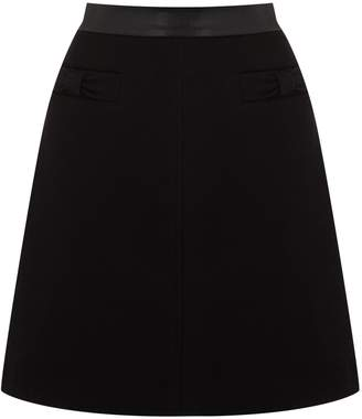 Next Womens Oasis Black Bow Skirt