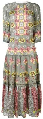 Temperley London Flux printed midi dress