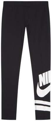 Nike Swoosh Print Leggings