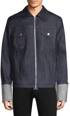 Helmut Lang Zip Front Denim Jacket