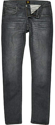 River Island Lee grey Luke slim fit tapered jeans