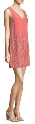 Trina Turk Glitteratti Silk Dress