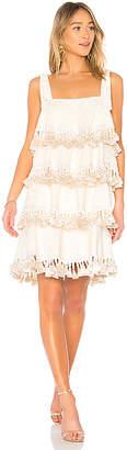 Mestiza New York Palma 4 Tiered Tassel Dress
