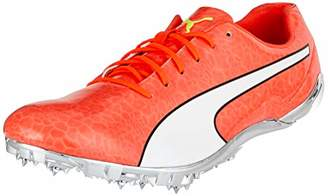 Puma Evospeed Electric 6 Competition Running Shoes, Red Blast Black White
